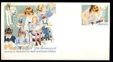 AUSTRALIA - Intero post. - 1985 - 125°  dei servizi per bambini sordi e ciechi