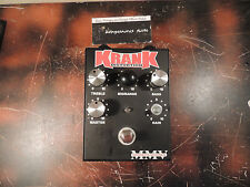KRANK DISTORTUS MAXIMUS DISTORTION EFFECTS PEDAL FREE SHIPPING!!!