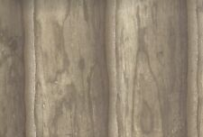 Wallpaper Taupe Gray Rustic Log Cabin Wood Plank