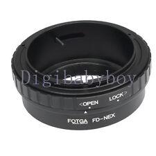 FOTGA Canon FD lente para Sony Adaptador NEX-5C NEX-C3 NEX3 NEX-5 NEX-7 NEX-VG30