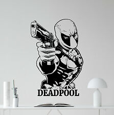 Deadpool Wall Decal Marvel Comics Superheroes Vinyl Sticker Decor Mural 97zzz