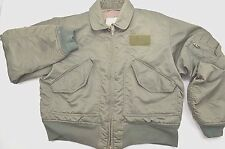 US Military Jacket Flyers CWU 45/P Sage Green Pilot Size L
