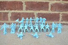 Marx US Cavalry Pioneers Union 45MM Fort Dearborn Toy Soldiers Alamo