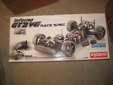 Kyosho Inferno GT2 VE Race SPEC White Cepto  1/8 On Road Ofna HPI Losi Tamiya
