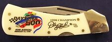 Dale Earnhardt Limited Edition Knife - Only 5,000 Made - COA - DAYTONA 500 WIN!!