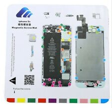 iPhone 5S Magnetic Screw Chart Mat Repair Professional Guide Pad Tools