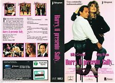 VIDEOCASSETTA VHS HARRY, TI PRESENTO SALLY - Meg Ryan, Billy Crystal