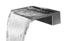 nautic wasserfall 120 cm edelstahl waterfall wasserspiel kaskade, Hause und Garten
