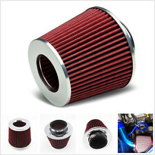 Car SUV 3 Inch Inlet Cold Air Short Ram Intake High Flow Breather Filter Cleaner
