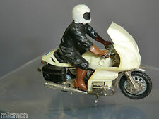 VINTAGE BRITAINS MODEL No.9696 BMW R100  MOTOR CYCLE  & GERMAN POLICE RIDER