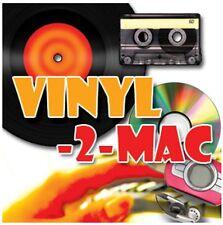 Transferencia copia convierta Lp Cassettes Cintas Y Md Minidisc Para Mac Osx, Mp3 Y Cd.