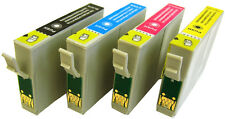 SET OF (ANY 4) COMPATIBLE PRINTER INK CARTRIDGES FOR EPSON STYLUS SX200  SX 200