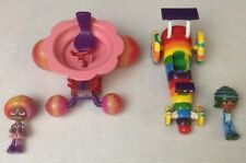 Disney Wreck It Ralph Movie Snowanna & Swizzle Malarkey LOT Candy Crush Racer