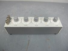 GR General Radio Decade Resistor Resistance Box Type 1434-N
