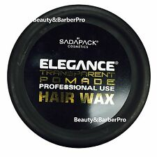 ELEGANCE TRANSPARENT POMADE HAIR STYLING WAX FOR STRONG HOLD 4.9OZ