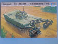 M1 PANTHER II MINECLEARING TANK. TRUMPETER. 1/35. NUEVA