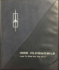 1966 Olds Data Book Dealer Album 442 Cutlass F85 88 98 Toronado Starfire
