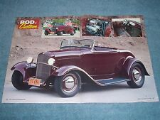 "1932 Ford Roadster Hot Rod Article ""Building on the Muse"""