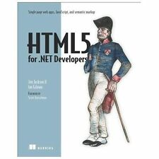 HTML5 for .NET Developers, Gilman, Ian, Jackson, Jim, New Book
