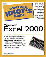 The Complete Idiot's Guide to Microsoft Excel 2000, Sherry Kinkoph Gunter
