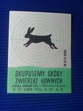 10. Vintage Label with of matches - Etykiety z zapalek