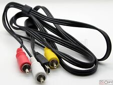 AV Video Cable Cord For Canon PowerShot A2400IS A3000IS A3100IS A3200IS A3300IS