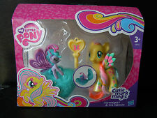 MY LITTLE PONY - CUTIE MARK MAGIC -  FLUTTERSHY & SEA BREEZIE MIB (2014)