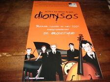 DIONYSOS - PUBLICITE LE RETOUR DU JEDI TOURNEE !!!!!!!!