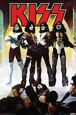 KISS - LOVE GUN POSTER - 24x36 SHRINK WRAPPED - ROCK BAND SIMMONS MUSIC 241128