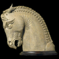 Ancient Persian Horse from Persepolis Art Head Bust Statue Sculpture