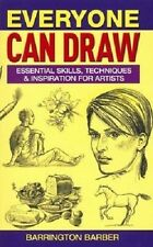Everyone Can Draw Barrington Barber (Paperback, 2011) Great Gift too!  SW11,U4