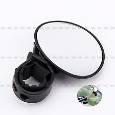 Hot Black Bicycle Cycling Handle Bar End Rearview Side Mirrors 360°Rotate Bike