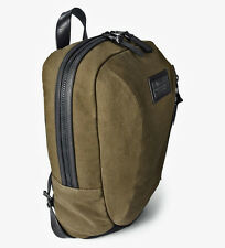 John Varvatos Star USA Men's Ludlow Backpack Army Green Canvas $298 msrp NWT