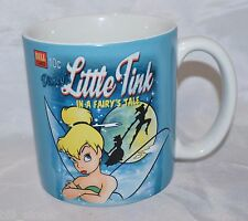 Tinker Bell Ceramic Mug Cup Little Tink in a Fairy's Tale Disney Store Peter Pan