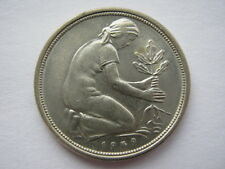 Germany 1949-F 50 Pfennig, UNC.
