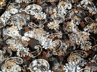 Top Quality Burnout Velvet In Floral Paisley Print Dress / Crafts Fabric *New*
