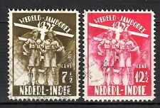 Dutch Indies - 1937 Jamboree / Scouting - Mi. 239-40 VFU