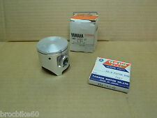 KIT PISTON ORIGINE YAMAHA YZ 125 1981 - 1982 +1.00 3N8-11638-10 2K6-11611-40