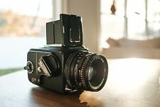 Hasselblad 500C/M Film Camera with 80mm lens & Acute Matte D focusing screen