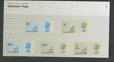 NEW FIND 5 new stamps LARGE K Machin Collectors OV Presentation Post & Go Pack
