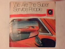 """EUROPCAR We are the superservice people 7"""" COME NUOVO LIKE NEW super service"""