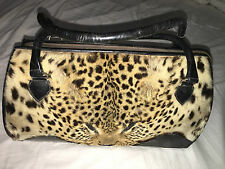 Real Leopard Face Handbag,mid 1940's,Real Leather,Taxidermy.L@@k And Bid Now!!!