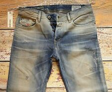 NEW Diesel Jeans WAYKEE Size 30x30 Regular Straight Made in ITALY was 398.00