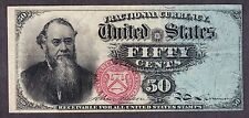 """US 50c Fractional Currency """"Stanton"""" 4th Issue FR 1376 VF-XF -002"""