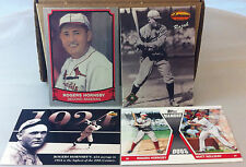 LOT OF (4) ROGERS HORNSBY ST. LOUIS CARDINALS HOF