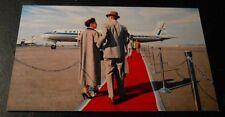 Vintage Postcard United Airlines Red Carpet Service
