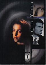 X FILES STAGIONE 4-5 promozionale CARD XM-1