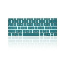"AQUA BLUE Keyboard Cover for Macbook Pro 13"" A1708 NO Touch Bar (Release 2016)"