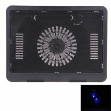 High Performance Super Slim Notebook Laptop Cooling Pad - Black
