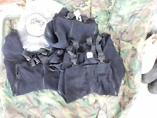 LOT OF 4 US MILITARY POLARTEC COLD WEATHER OVERALLS MED S/R